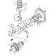 Metales Axiales Cigueñal Motor G13 Estandar Japon