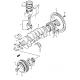 Metal De Bancada Motor G13 Medida 0.25 Japon